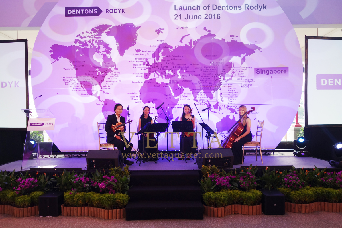 Launch of Dentons Rodyk at Fullerton Bay Hotel