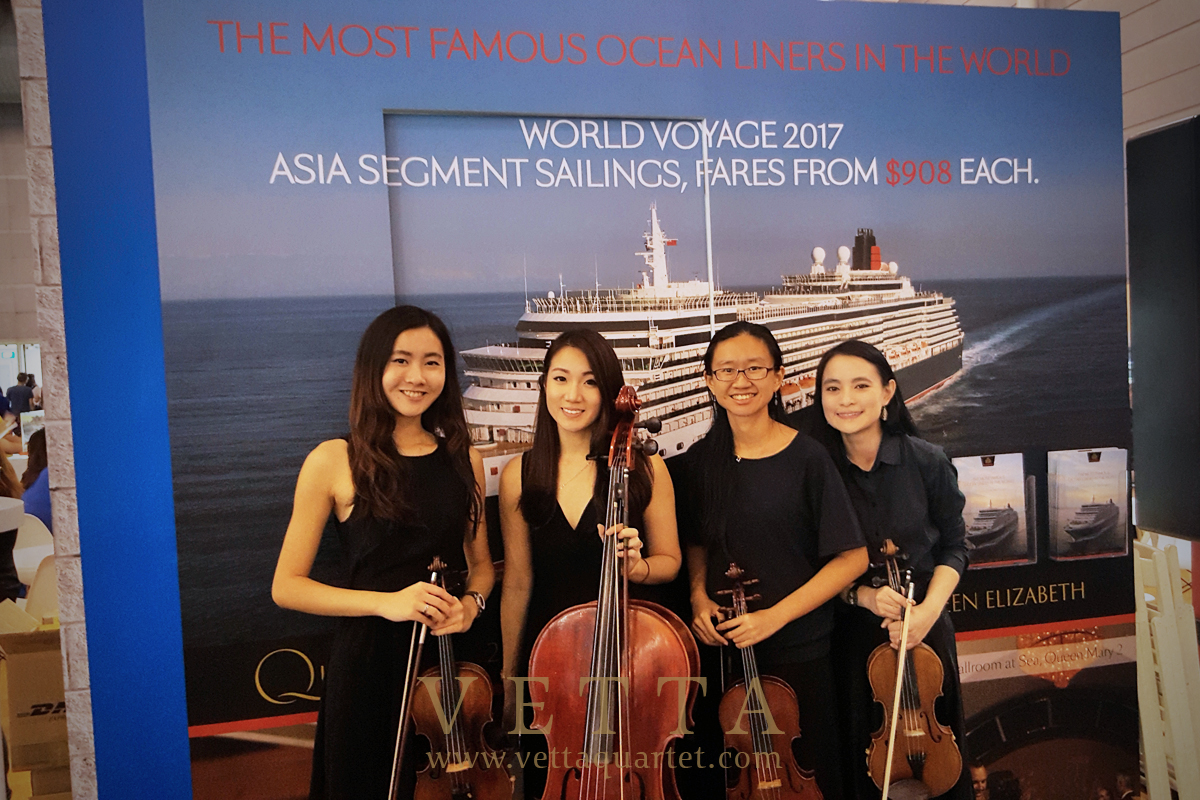 Esta Quartet at NATAS Travel Fair for Princess Cruises