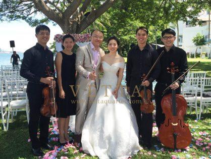Wedding at Shangri-La Rasa Sentosa