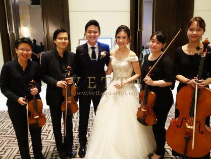 Lucinda & Ming Hian's Wedding at The Westin Singapore