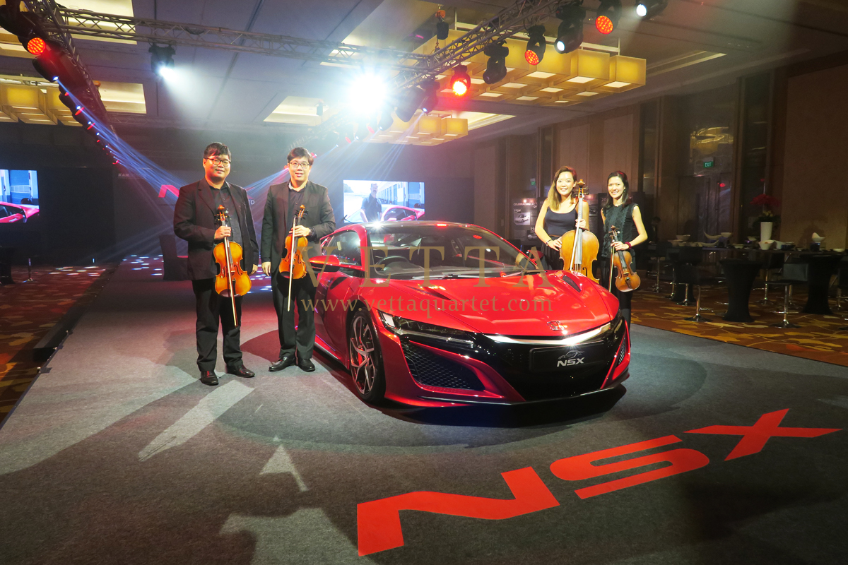 Launch of Honda NSX at Marina Bay Sands