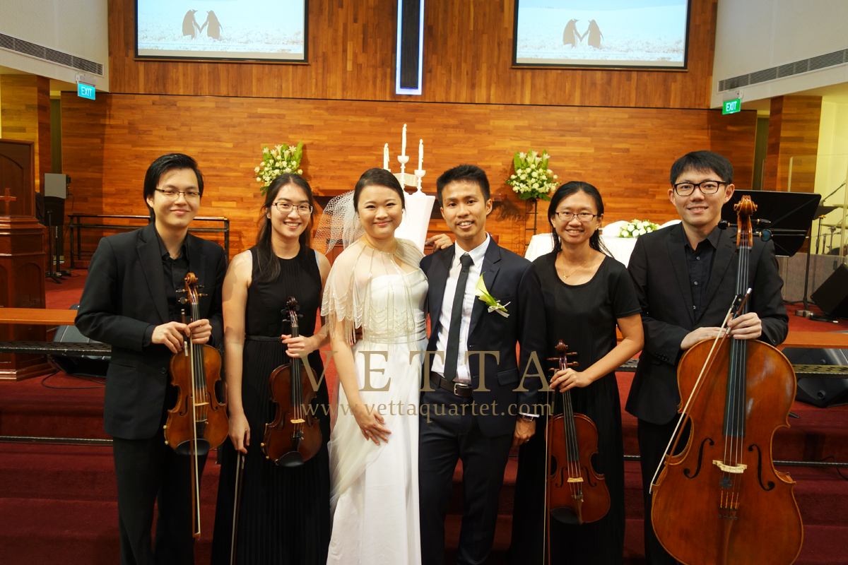 Yaosheng & Eelin's Wedding at Toa Payoh Methodist Church