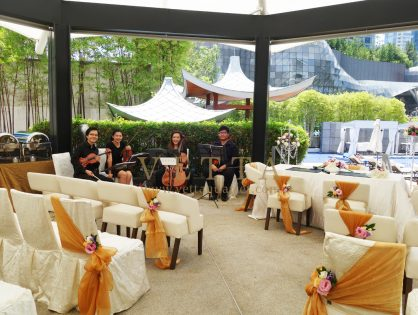 Shi Hong's Wedding at Marriott Hotel