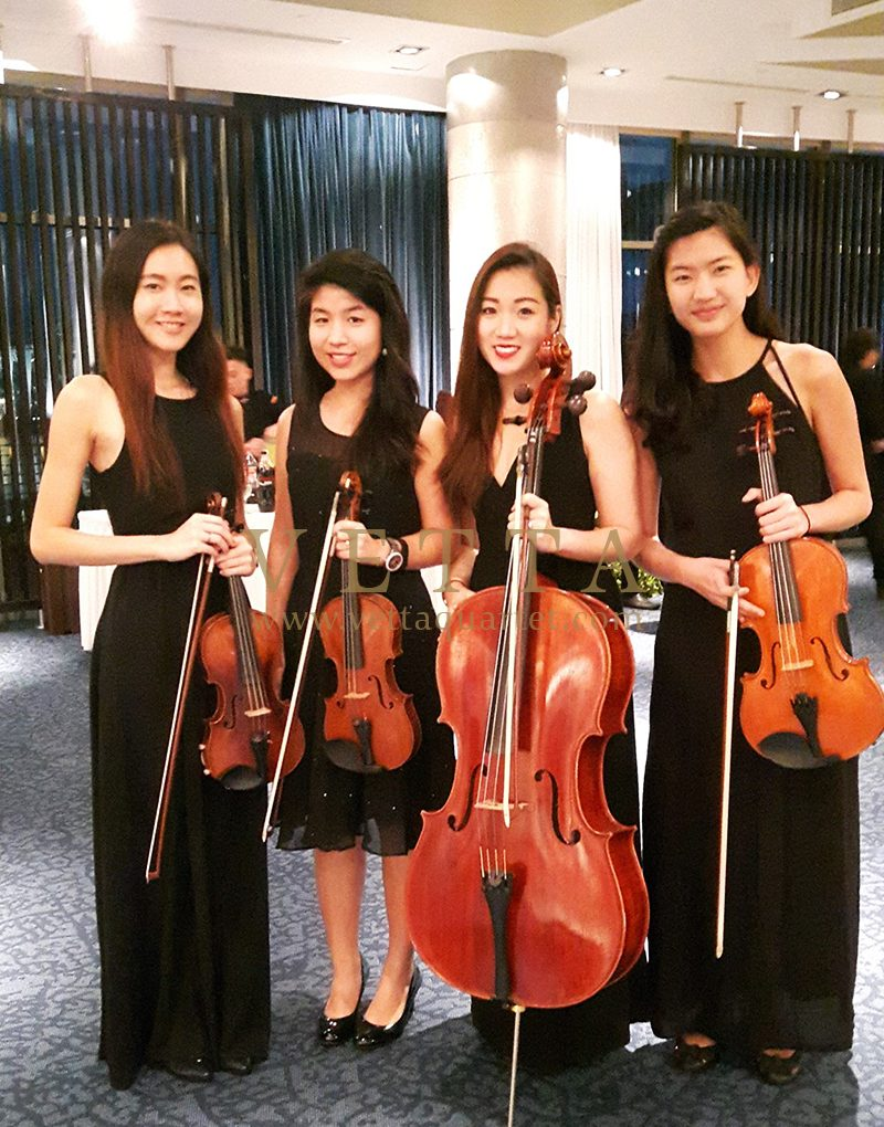 ESTA Quartet at MSF Farewell Dinner at Singapore Flyer Ballroom