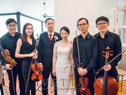 String Quartet for Lee Ping & Sherman's Wedding at Lewin Terrace