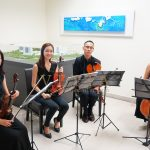 String Quartet at NUHS Appreciation Event