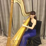 Harpist for Corporate Event at Goodwood Park Hotel