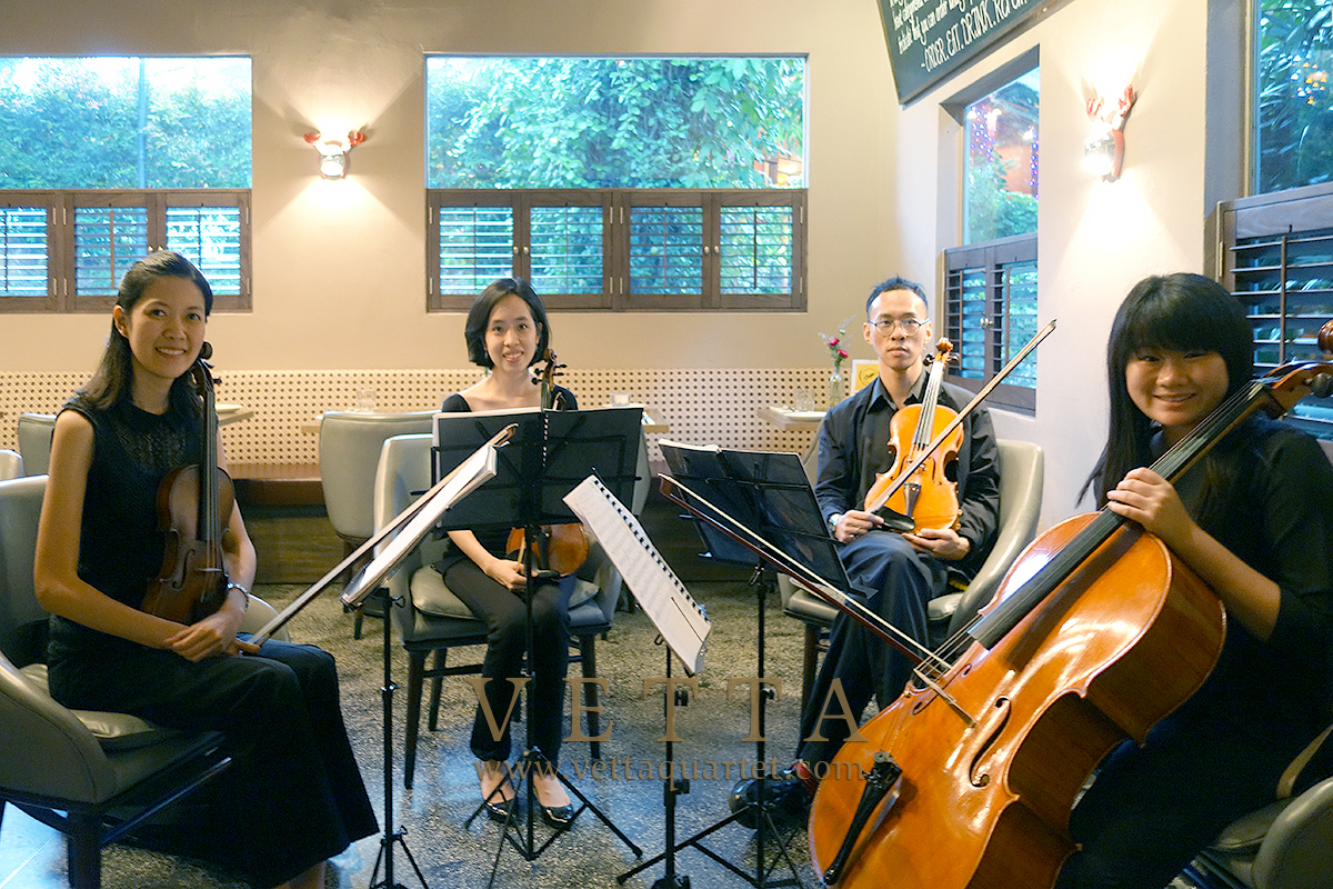 String Quartet for a Proposal at The Disgruntled Chef