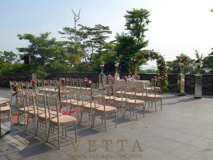 ESTA Quartet for Jason's Wedding at Capella