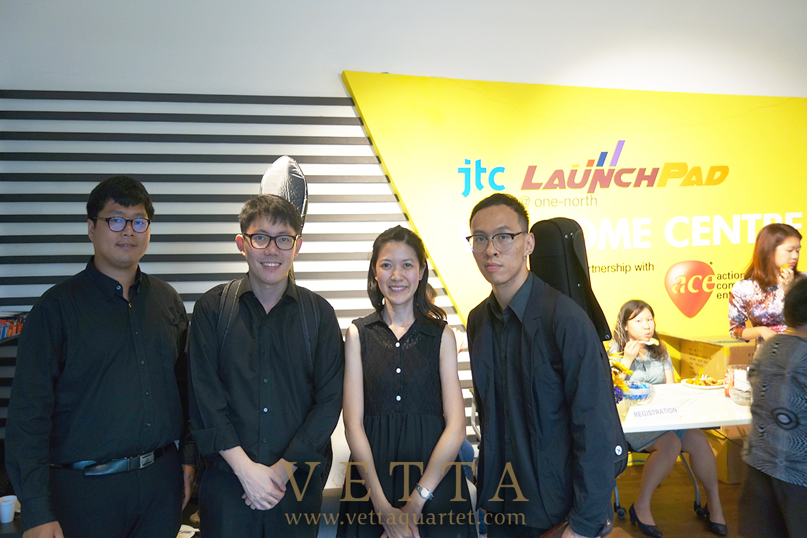String Quartet for Corporate Event at Ace Ideation Centre