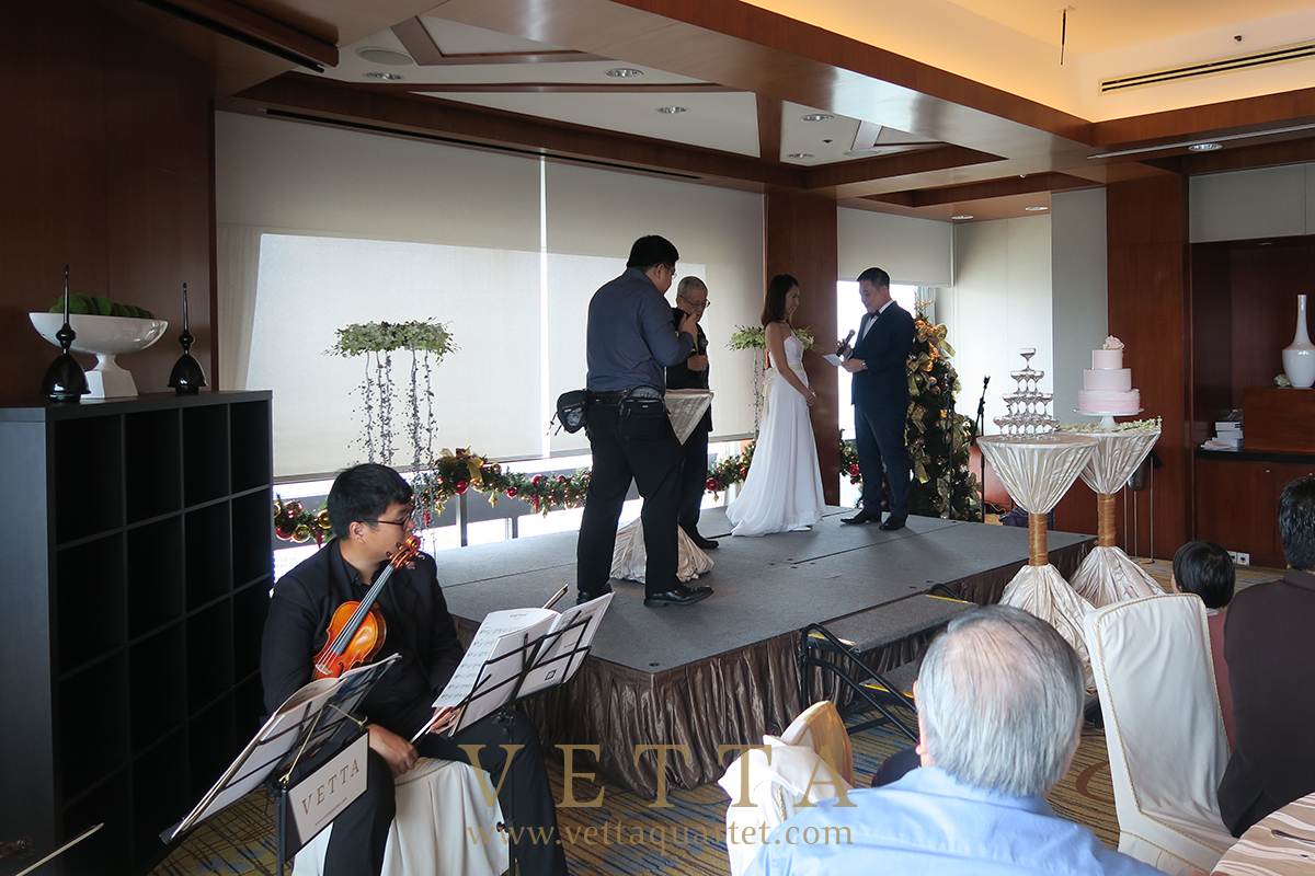 VETTA String Duo for Wedding at Swissotel Sky Suites