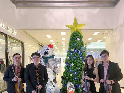 Christmas Performance at Scotts Square Atrium