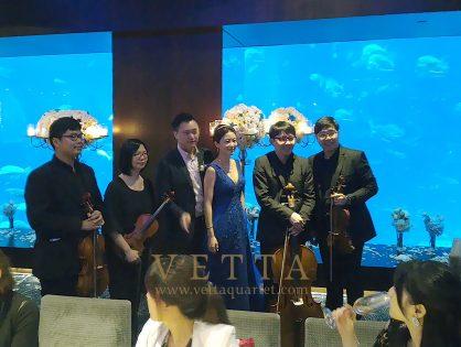 Ronald & Eunhae's Wedding at Cat Cora Ocean Restaurant Sentosa