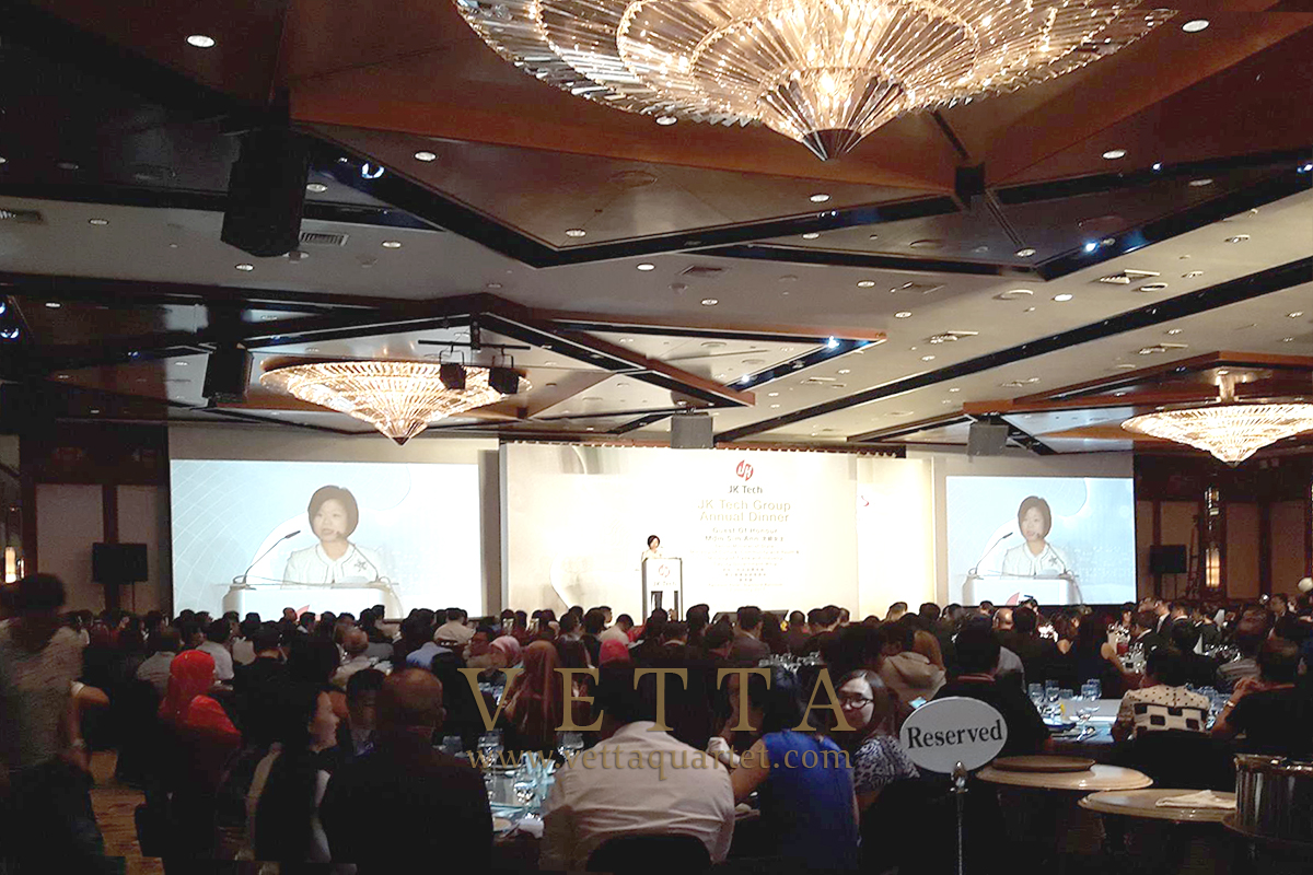 String music for Corporate event at Fairmont Singapore