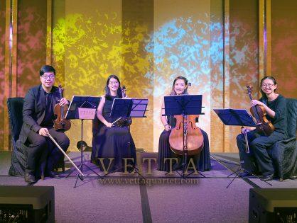 String Quartet for Corporate Gala Dinner at Marina Bay Sands