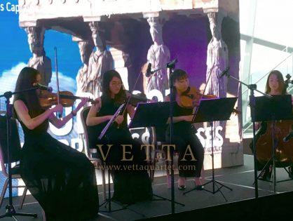 ESTA String Quartet for Princess Cruises Event