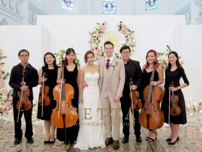 String Sextet for Wedding at CHIJMES