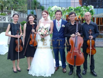 Laura's Wedding at Hotel Fort Canning