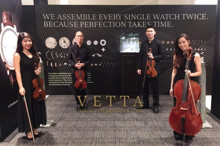 String Quartet for A. Lange & Söhne Timepieces Watch Product launch