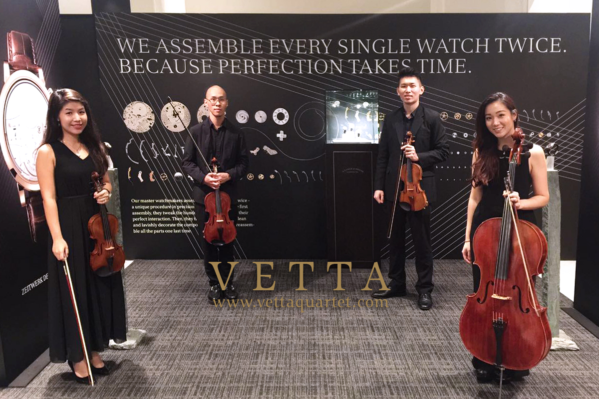 String Quartet for Watches Launch at FOO'D by Davide Oldani - A. Lange & Söhne