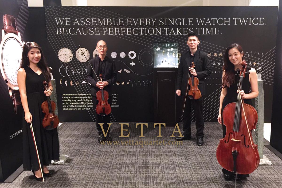String Quartet for Watches Launch at FOO'D by Davide Oldani - A. Lange & Söhne