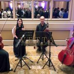 String Quartet for Corporate Cocktail Reception at Conrad Centennial Hotel