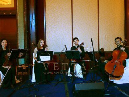 String Quartet for Elisabeth and Sean's Wedding at Shangri-La