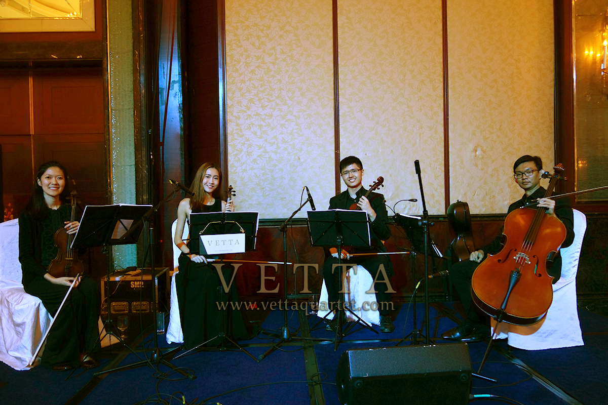String Quartet for Elisabeth and Sean's Wedding at Shangri-La