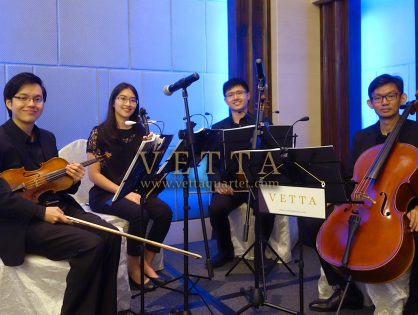 String Quartet for Sheryl's Wedding at Carlton Hotel