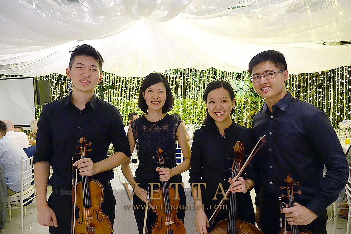 String Quartet for Wedding at One Rochester