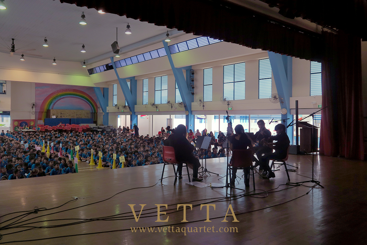 Educational Outreach at Telok Primary School