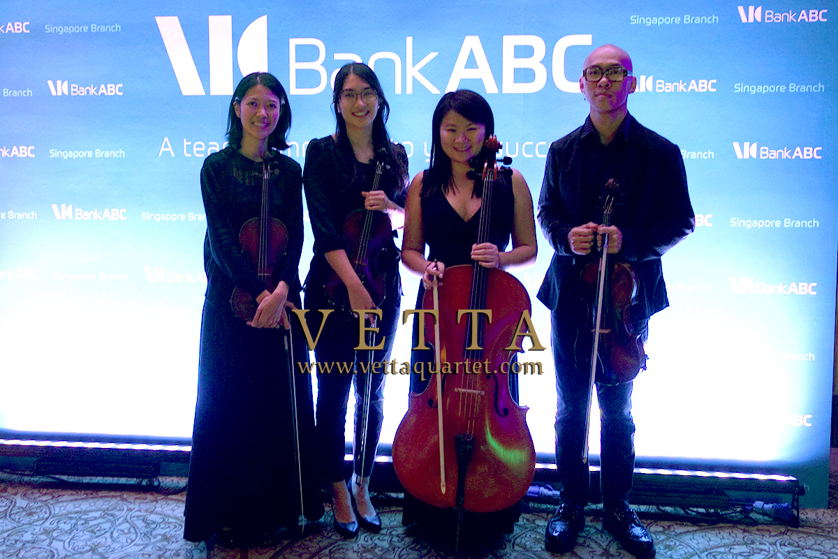 String Quartet for Corporate Celebration at Ritz Carlton