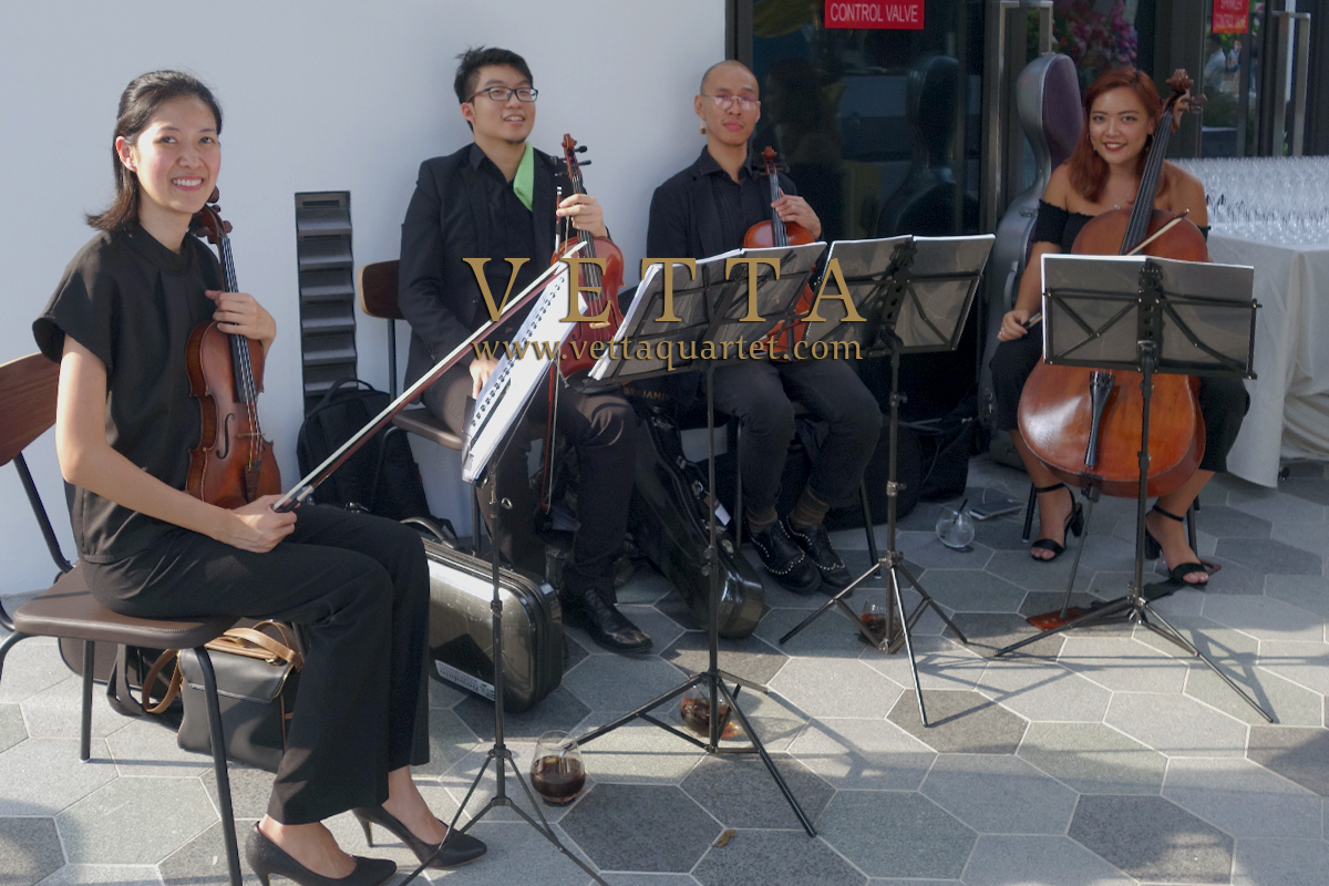 String Quartet for FiSK Restaurant Grand Opening