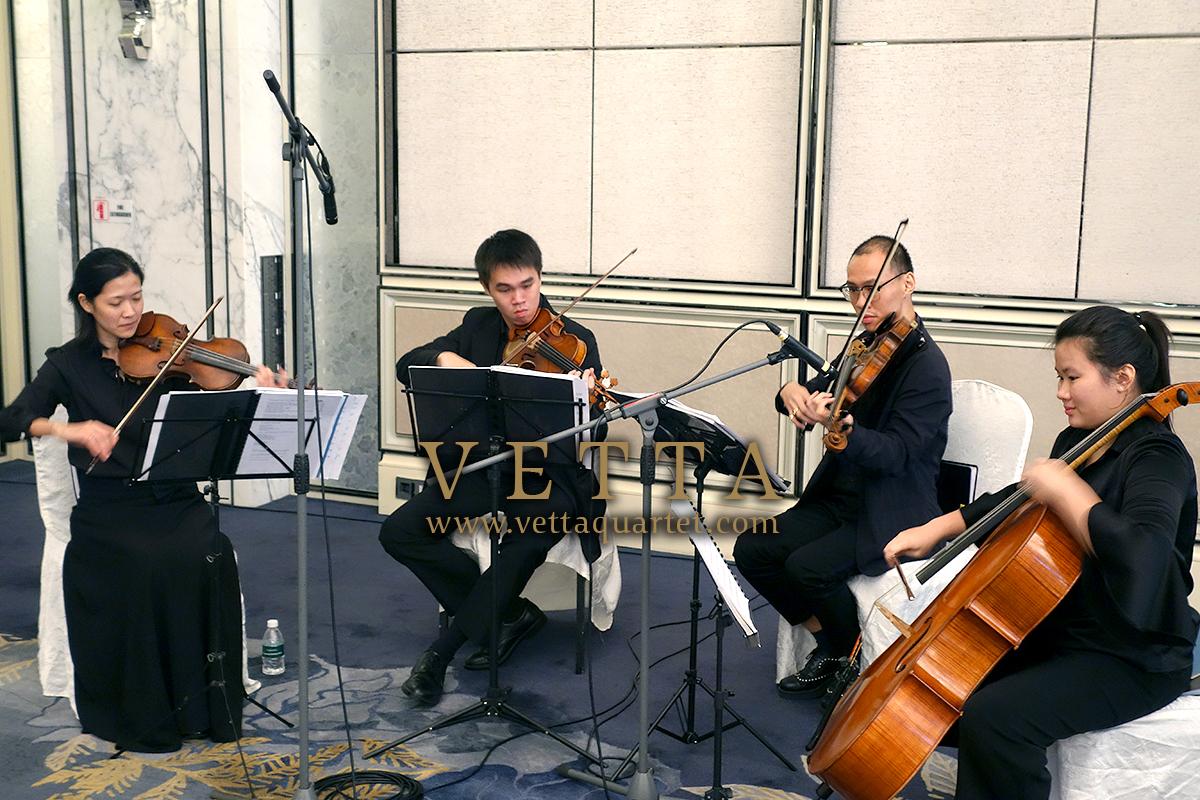 String Quartet for Corporate Event at Shangri-La