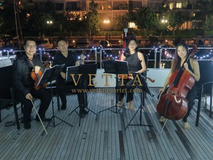 String Quartet for Private Yacht Booking