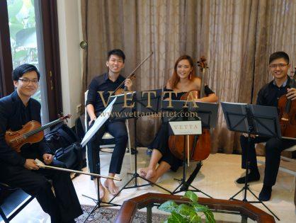 String Quartet for Private Home Christmas Celebration