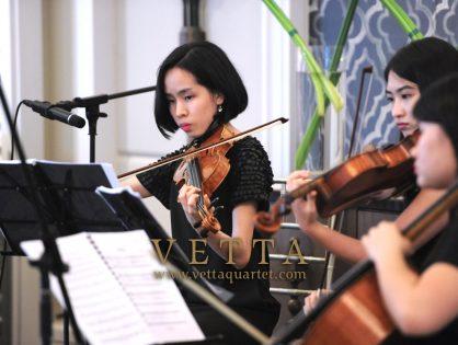 ESTA Quartet for Corporate Event at Clifford Pier