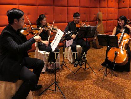 String Quartet for Wedding at Marriott Tang Plaza Hotel