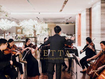 String Ensemble for Roland & Rachel's Wedding at Grand Hyatt