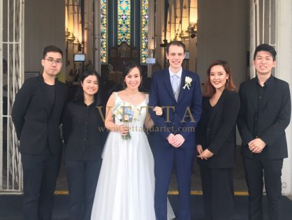 String Quartet for Wedding at St Andrew's Cathedral