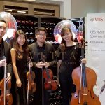String Quartet for UBS University Event at Flutes, National Museum