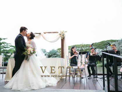 String Quartet for Mai's Wedding at Vineyard, Hortpark