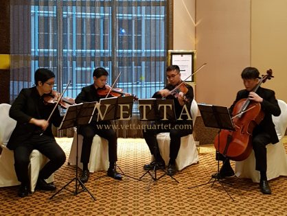 String Quartet for Wedding at Conrad Hotel
