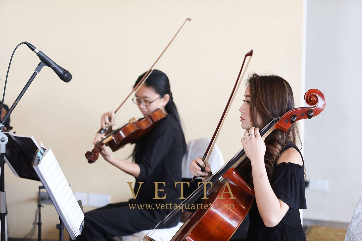 String Quartet wedding at Shangri-La Rasa Sentosa Singapore
