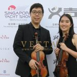 Violin Duo for Singapore Yacht Show Regal Night