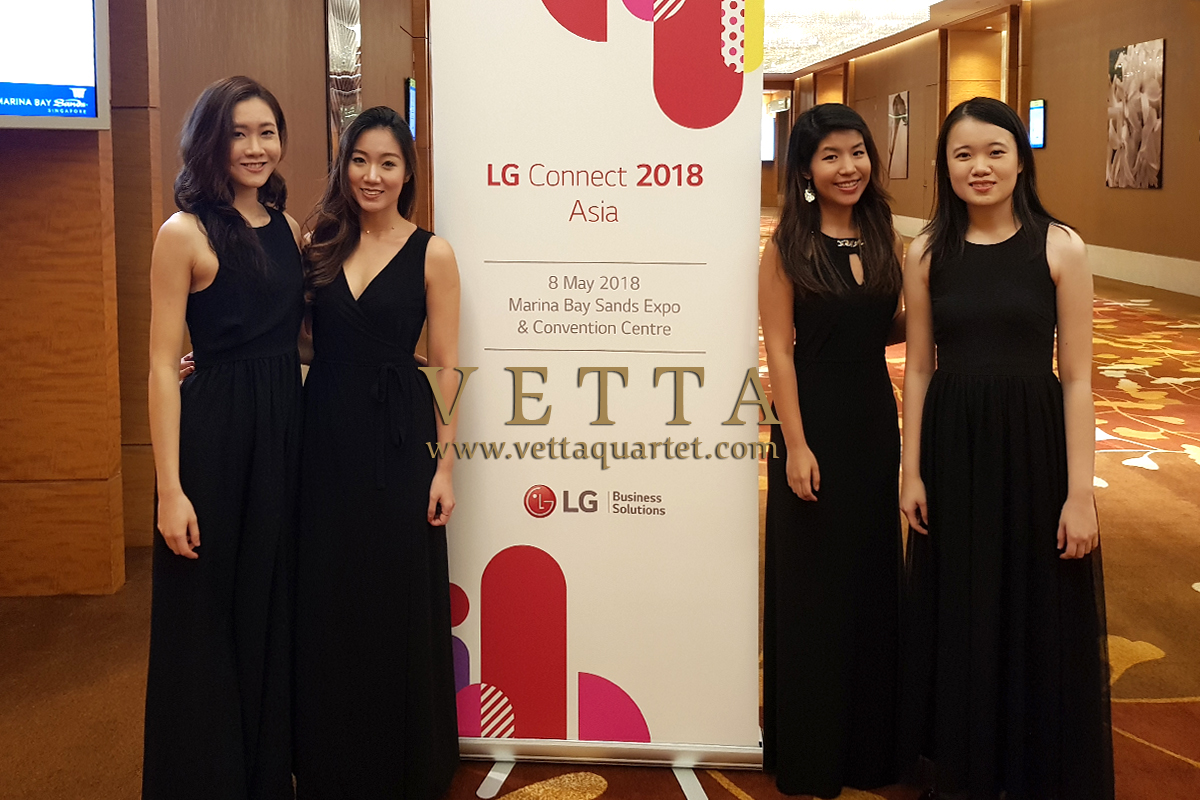 ESTA Quartet for LG Event at Marina Bay Sands