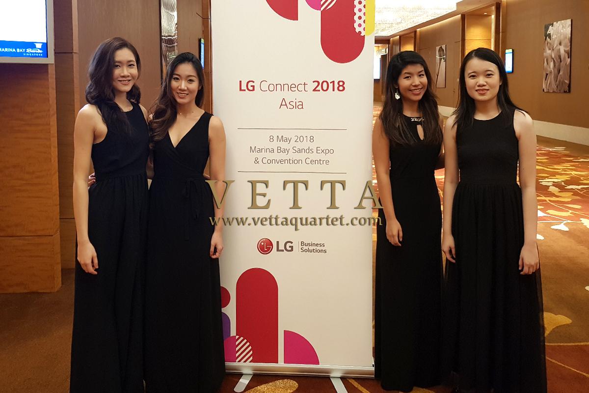 ESTA Quartet for LG Event at Marina Bay Sands