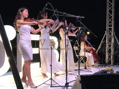 ESTA Quartet at Diner en Blanc Singapore