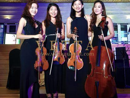 ESTA String Quartet for Corporate Event at National Gallery