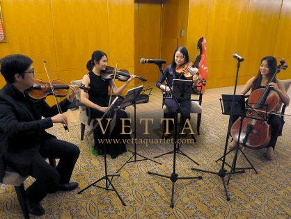 Victoria and Daniel's Wedding at Ritz Carlton, Grand Ballroom